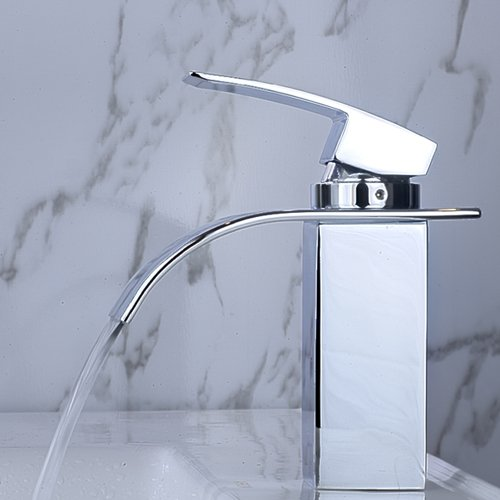 Arian Iris Waterfall Bathroom Basin Mixer & Bath Shower Mixer Tap Pack